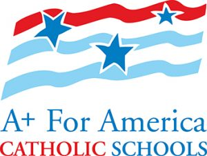 A+ for Catholic Schools logo