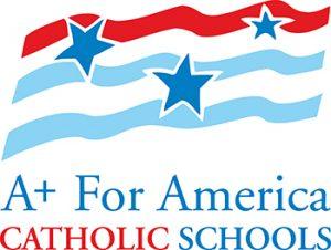A+ for Catholic Schools logo